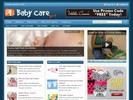 Thumbnail Baby Care Health Niche Blog w/ PLR