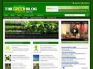 Thumbnail Going Green Niche Blog w/ PLR