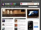 Thumbnail Home Theater Electronics Niche Blog w/ PLR