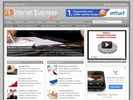 Thumbnail Internet Business Niche Blog w/ PLR