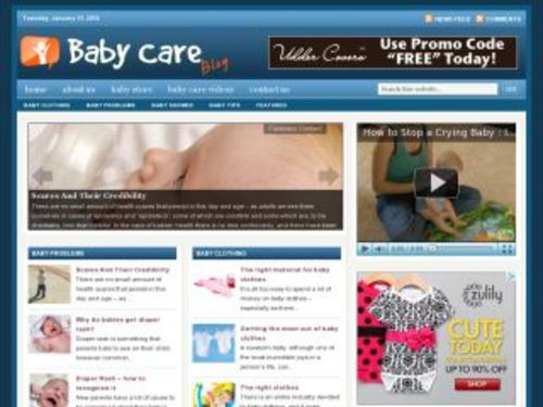 Pay for Baby Care Health Niche Blog w/ PLR