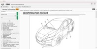 Thumbnail Nissan Leaf ZE1 2018 Service Manual Wiring diagrams