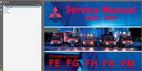 Thumbnail Mitsubishi Fuso 2002-2004 Service Manual Wiring diagrams