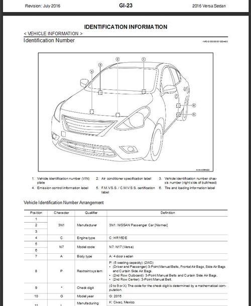 2016 Nissan Versa Sedan N17 Service Repair Manual  U0026 Wiring