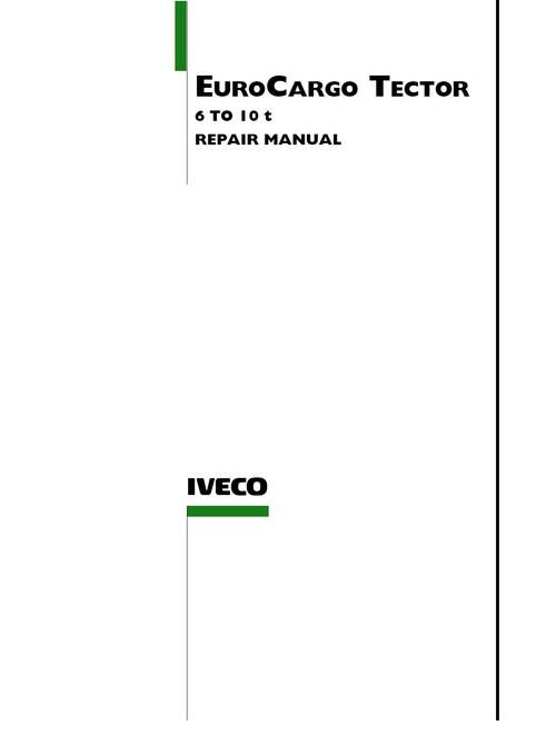 diagram iveco eurocargo tector 6 10 t service repair