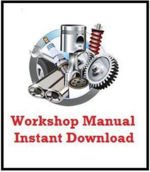 fiat idea complete workshop repair manual 2003 2009