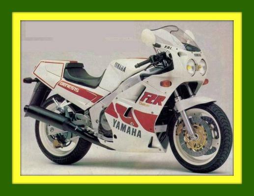 Yamaha Fzr 750 Fzr 1000 1987 1988 Repair Service Shop