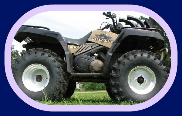 Yamaha Grizzly 600 Atv 98 99 2000 2001 Repair Service Manual
