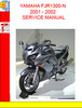 Thumbnail YAMAHA FJR1300-N 2001 - 2002 SERVICE MANUAL