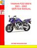 Thumbnail YAMAHA FZS1000-N 2001 - 2002 SERVICE MANUAL