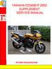 Thumbnail YAMAHA FZS600-P 2002 SUPPLEMENT SERVICE MANUAL
