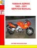 Thumbnail YAMAHA SZR660 1995 - 2001 SERVICE MANUAL