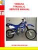 Thumbnail YAMAHA TTR250L-C SERVICE MANUAL