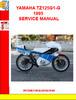 Thumbnail YAMAHA TZ125G1-G 1995 SERVICE MANUAL