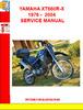 Thumbnail YAMAHA XT660R-X 1976 -  2004 SERVICE MANUAL