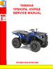 Thumbnail YAMAHA YFM700RV RAPTOR SERVICE MANUAL
