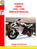 Thumbnail YAMAHA YZFR1 1998 - 1999 SERVICE MANUAL