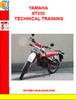 Thumbnail YAMAHA XT350 TECHNICAL TRAINING
