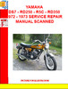 Thumbnail YAMAHA DS7 - RD250 - R5C - RD350 1972 - 1973 SERVICE REPAIR
