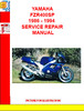Thumbnail YAMAHA FZR400SP 1986 - 1994  SERVICE REPAIR MANUAL