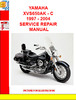 Thumbnail YAMAHA XVS650AK - C 1997 - 2004 SERVICE REPAIR MANUAL
