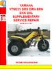 Thumbnail YAMAHA YTM225 DRS DRN ERN DXK DXL SUPPLEMENTARY SERVICE REPA