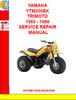 Thumbnail YAMAHA YTM200EK TRIMOTO 1983 - 1986 SERVICE REPAIR MANUAL