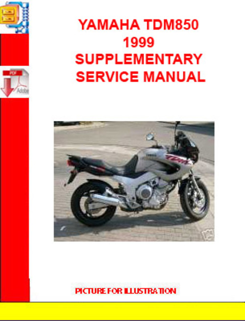 Pay for YAMAHA TDM850 1999 SUPPLEMENTARY SERVICE MANUAL