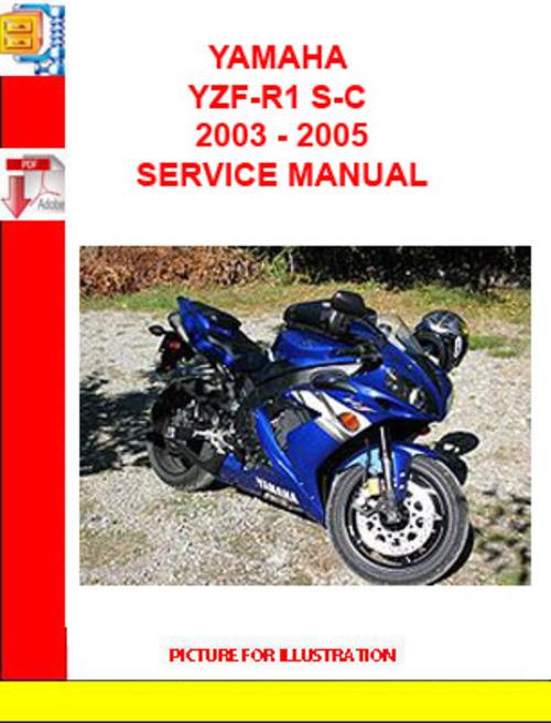 yamaha yzf r1 s c 2003 2005 service manual download manuals am rh tradebit com 2003 r1 manual download 2007 r1 manual
