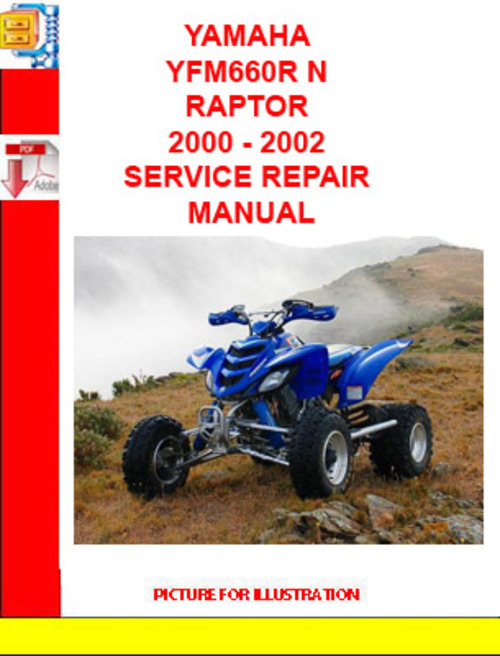yamaha yfm660r n raptor 2000 2002 service repair manual. Black Bedroom Furniture Sets. Home Design Ideas