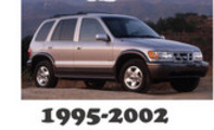 Thumbnail 1995-2002 KIA Sportage Service Repair Manual Download