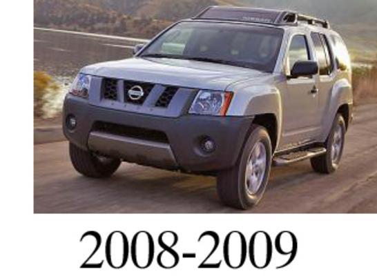 Nissan Xterra 2008 2009 Factory Service Repair Manual
