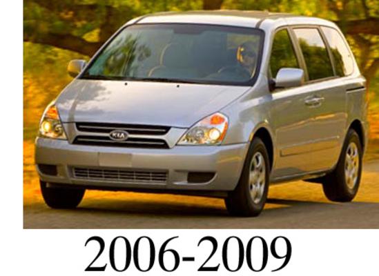 Kia Sedona 2006 2009 Factory Service Repair Manual