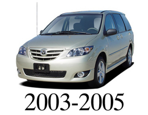 mazda mpv 2003 2005 service repair manual download download manua rh tradebit com MPV 2004 vs MPV 2005 2005 Mazda Minivan
