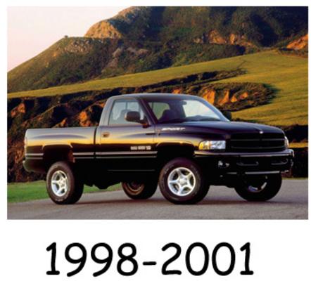 Pay for Dodge Ram 1998-2001 Service Repair Manual Download