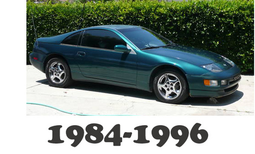 Pay for 1984-1996 Nissan 300ZX OEM Service Repair Manual Download