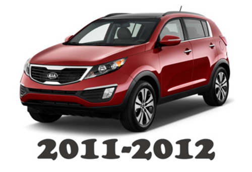 Pay for 2011-2012 KIA Sportage OEM Service Repair Manual Download
