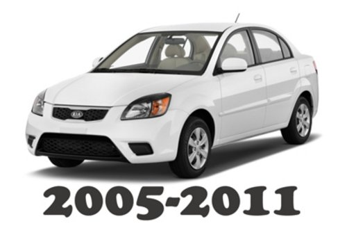 kia rio 2008 workshop manual