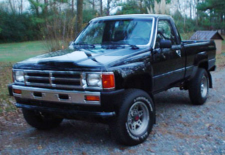 Toyota Pickup Truck Factory Service Repair Manual 1984-1989