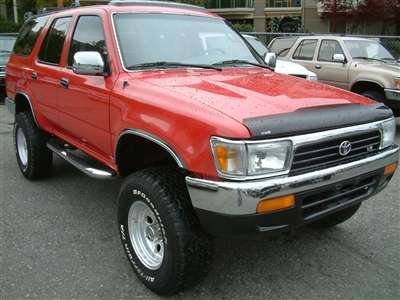 TOYOTA 4RUNNER 1990 1991 1992 1993 1994 1995 Factory/ Repair/ Workshop/ Service PDF Manual