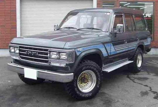 Toyota Land Cruiser Factory Repair Manual 1980-1988