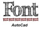Thumbnail 600 font Autocad