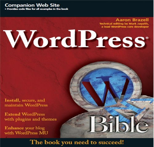Pay for Wiley WordPress Bible New 2010