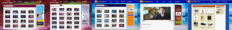 Thumbnail automated video site script -make money from unused domains