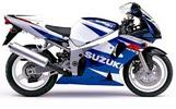 Thumbnail Suzuki GSXR600 manual 2001-2002