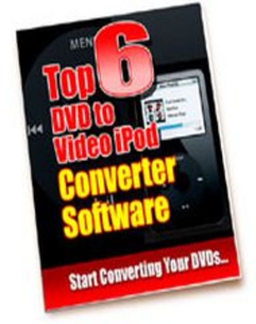 Pay for Top6 DVD to video ipod converter software