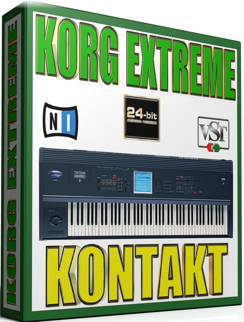 Pay for KORG EXTREME SAMPLES KONTAKT NATIVE  65GB *24-BIT*
