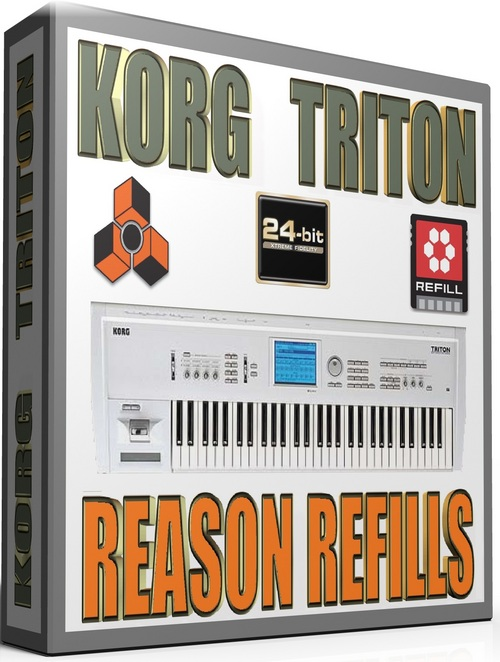 Pay for KORG TRITON SAMPLES REASON REFILLS sxt     22GB     *24-BIT*