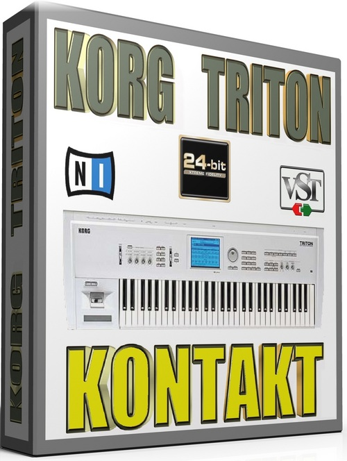 KORG TRITON SAMPLES KONTAKT NATIVE INSTRUMENTS 22GB *24-BIT*