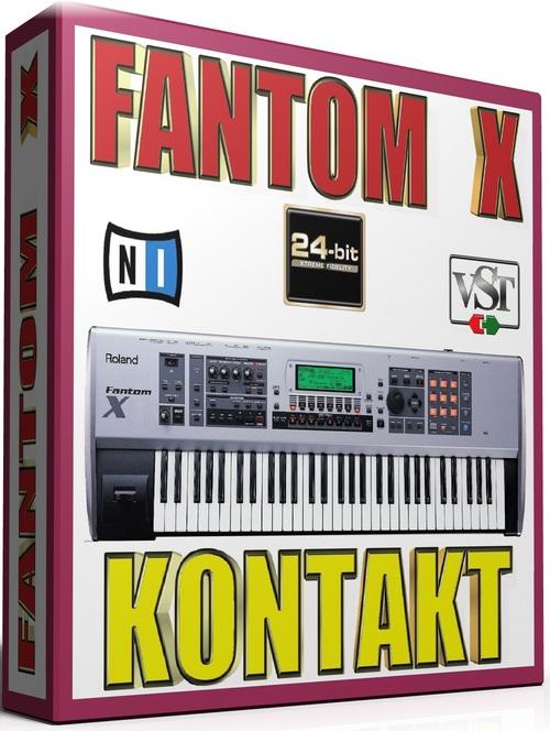 Pay for FANTOM X SAMPLES KONTAKT NATIVE INSTRUMENTS 25GB *24-BIT*